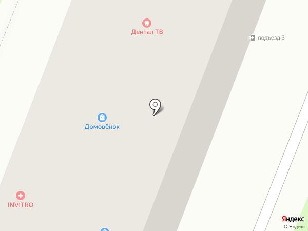 Березка на карте Брянска