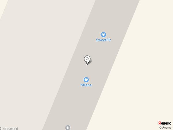 Теплые Окна на карте Брянска