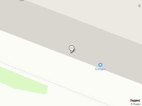 Сатурн на карте Брянска