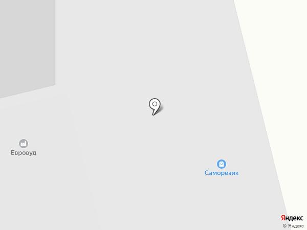 Гевея на карте Петрозаводска