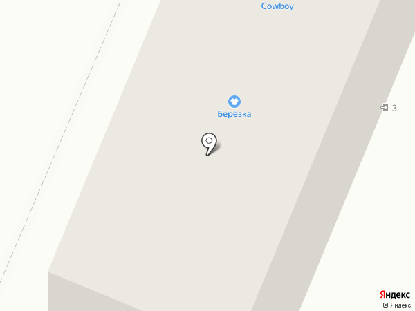 Ковбой на карте Брянска