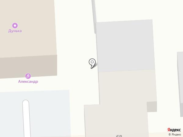 Александр на карте Брянска