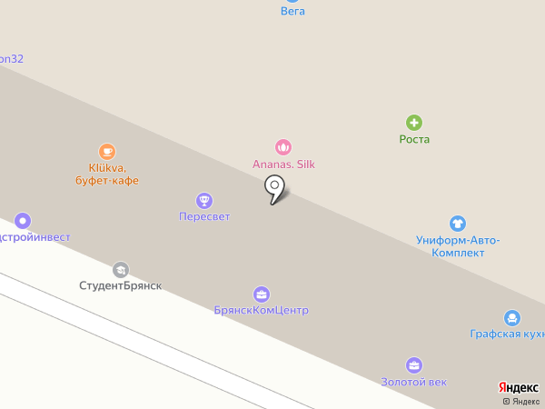 Prime English на карте Брянска