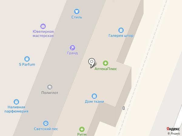 Lfoto на карте Брянска