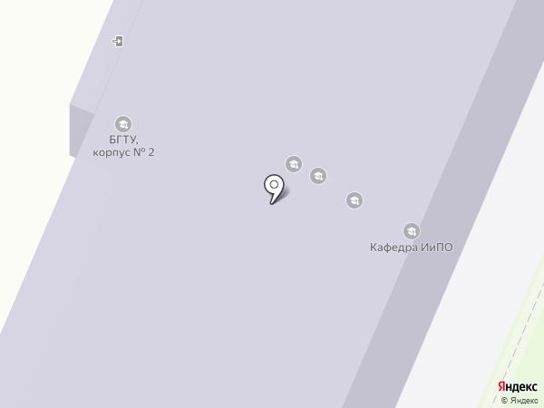 Информатик на карте Брянска
