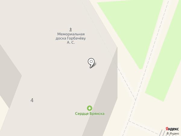 Экватор на карте Брянска