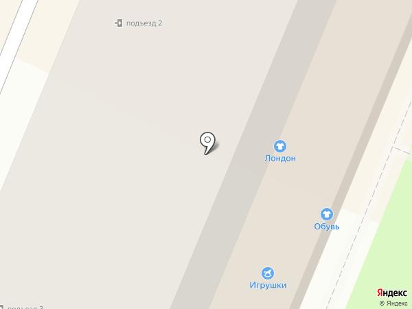 Снежка, ПАО на карте Брянска