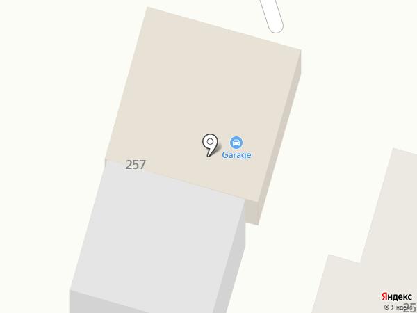 GARAGE на карте Брянска