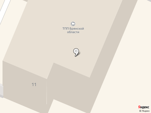 Деловой Брянск на карте Брянска