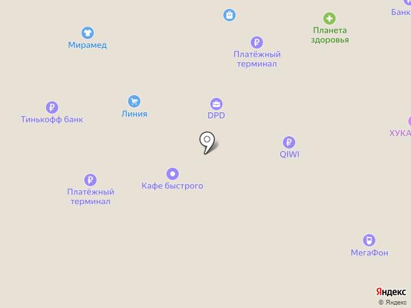 Магазин женской одежды на карте Брянска