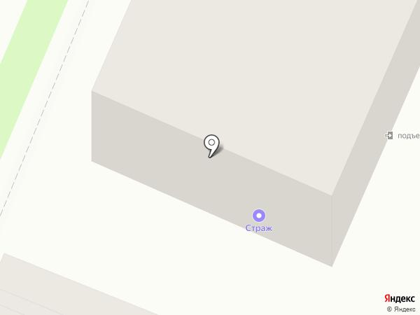 Брянская противопожарная лаборатория на карте Брянска