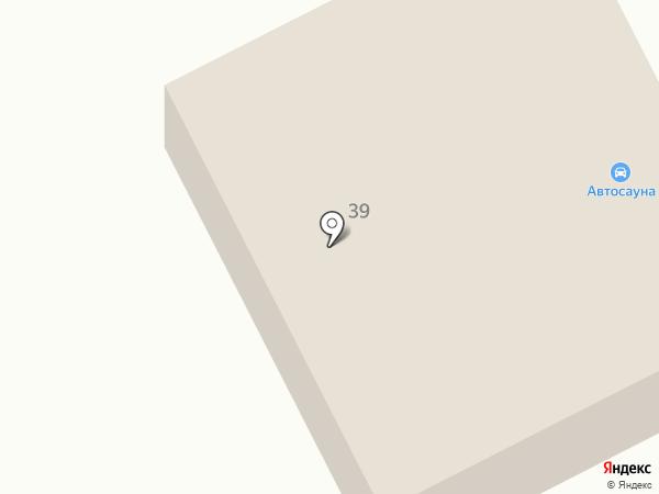 Автосауна на карте Петрозаводска