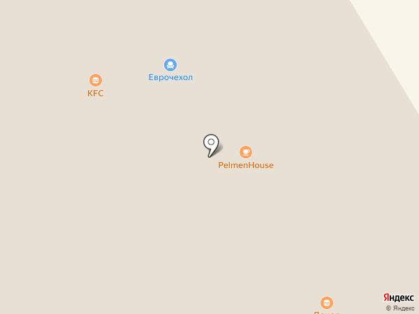 SUSHI вёсла на карте Петрозаводска
