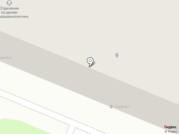 Отдел полиции №1 на карте Брянска