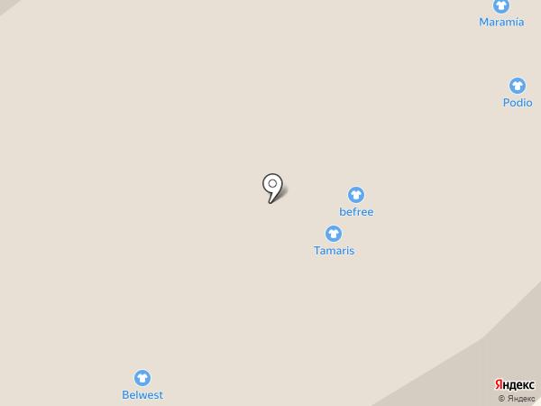 Tamaris на карте Петрозаводска