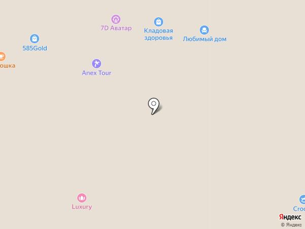 Luxury на карте Петрозаводска