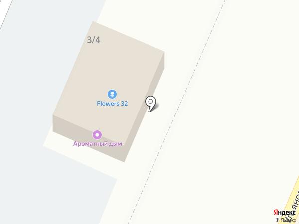 Вовкина деревня на карте Брянска
