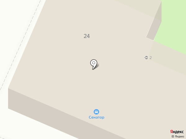 Меридиан-тур на карте Брянска