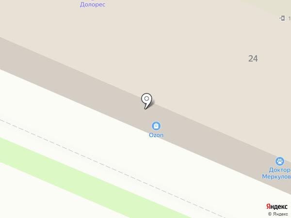 Альтор на карте Брянска
