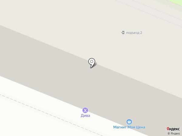 Магнит на карте Брянска