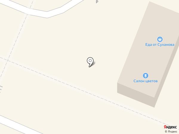 Салон цветов на карте Брянска