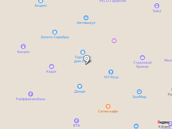Сигма-Сити на карте Петрозаводска