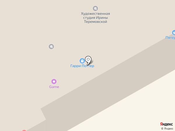 Киоск по продаже шаурмы на карте Петрозаводска