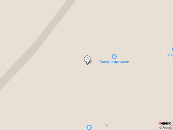 Галерея времени на карте Петрозаводска