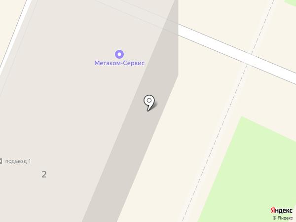 Метаком-Сервис на карте Брянска