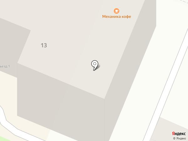 Ам на карте Брянска