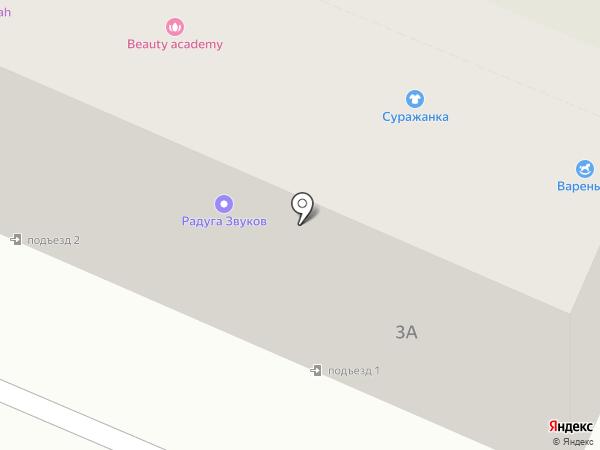 Сеть магазинов горящих путевок на карте Брянска