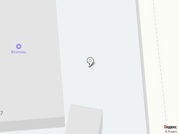 Визит на карте Брянска