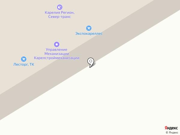 Сталь Мет на карте Петрозаводска