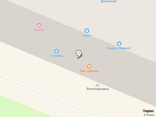 Радиодетали на карте Брянска