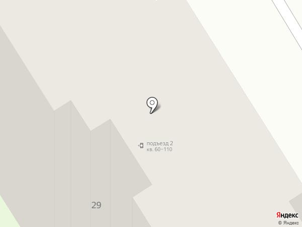 Солнечный на карте Брянска