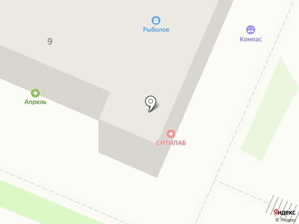 Болеро на карте Брянска