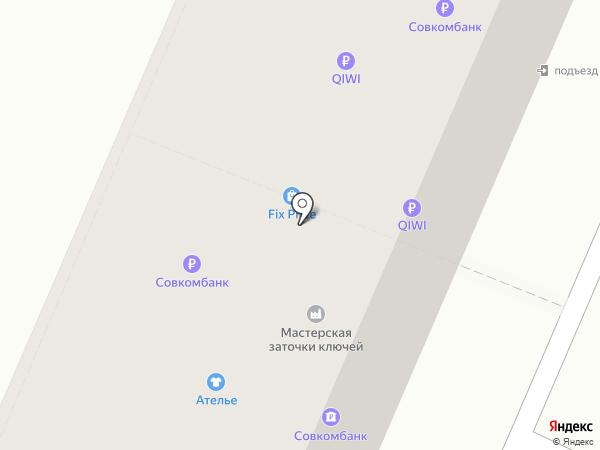 Стик на карте Брянска