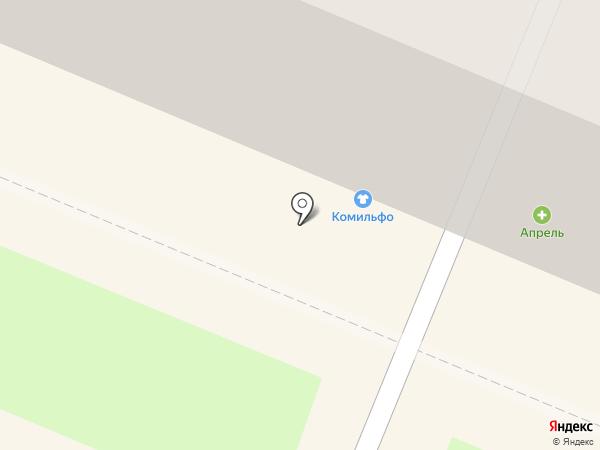 Комильфо на карте Брянска