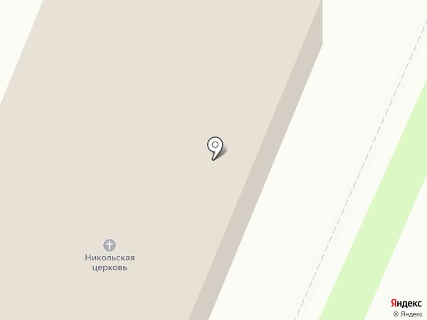 Храм святителя Николая Чудотворца на карте Брянска