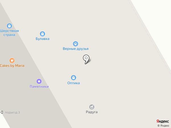 Взгляд на карте Петрозаводска