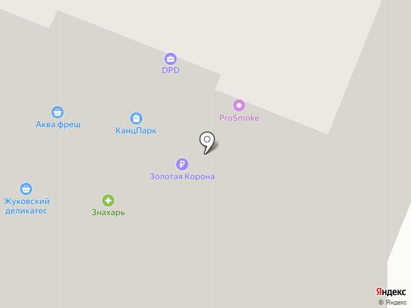 Бегемот и К на карте Брянска