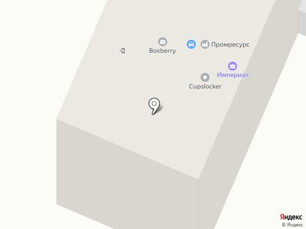 Монтажник на карте Брянска
