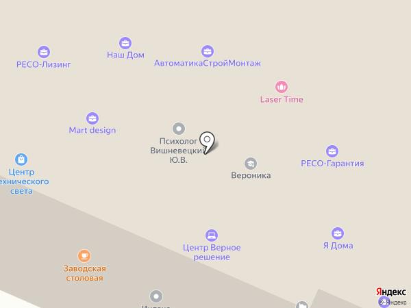 Дейта-Сервис на карте Брянска