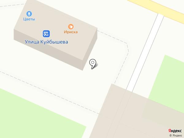 Ириска на карте Брянска
