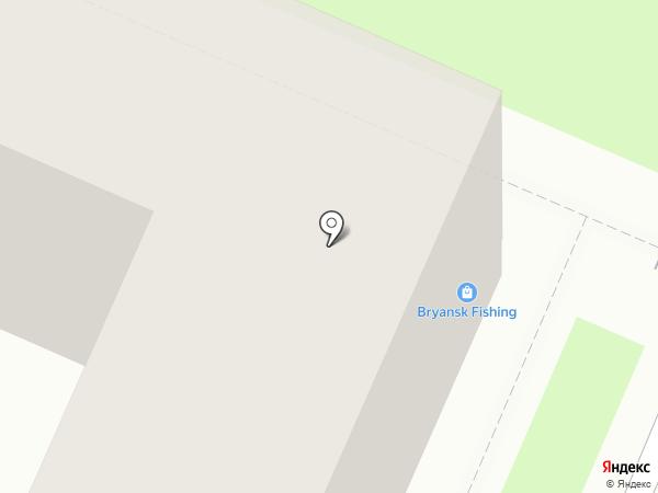 Мебельный салон на карте Брянска