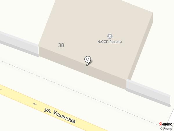 Отдел судебных приставов на карте Брянска