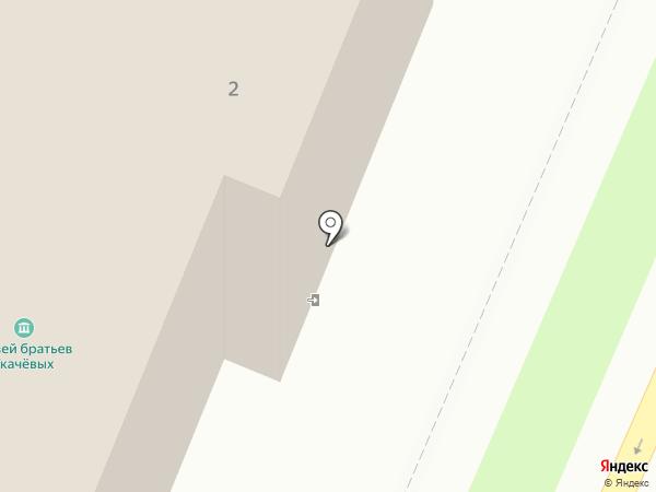 Музей братьев Ткачёвых на карте Брянска