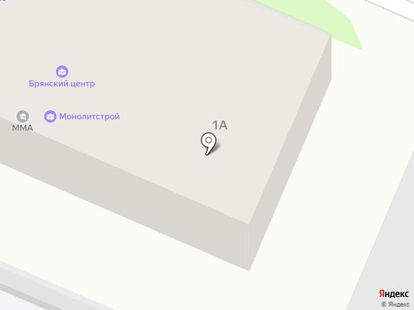 Люкстерм на карте Брянска