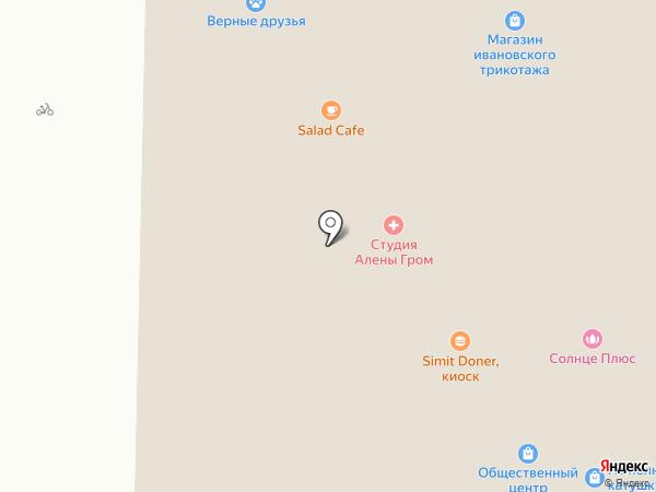 Ювелирная мастерская на карте Петрозаводска