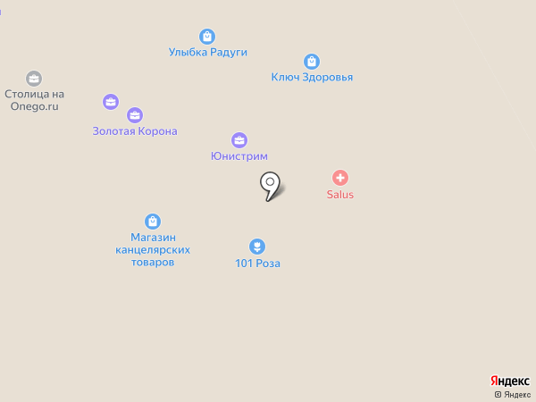 СТОЛИЦА на Onego.ru на карте Петрозаводска